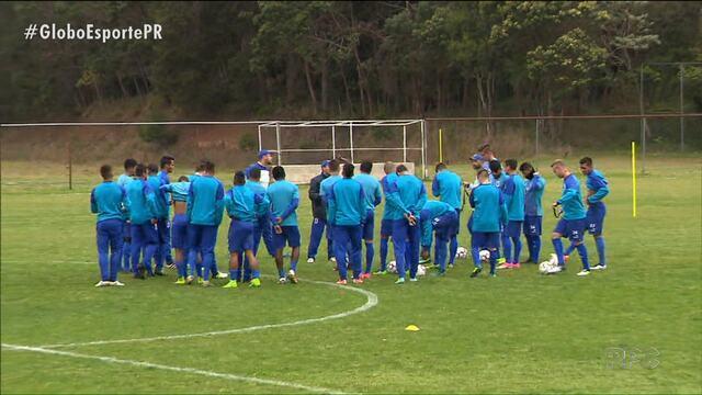 Paraná Clube pronto para voar até Belém