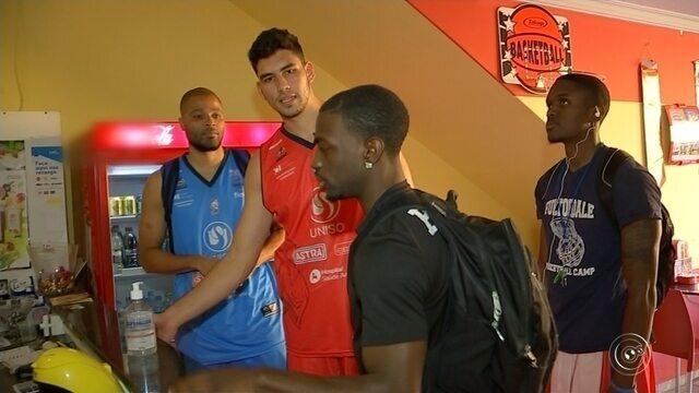 Atletas Americanos da Liga Sorocabana de Basquete começam a se adaptar ao Brasil