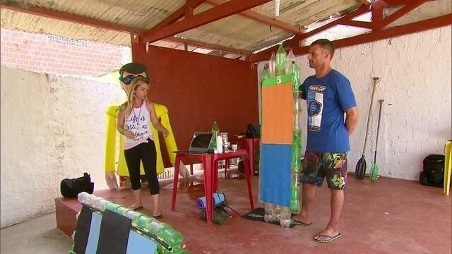 BLOG: Jairo e Carol mostram como surfar em cima do lixo e ajudar o meio-ambiente