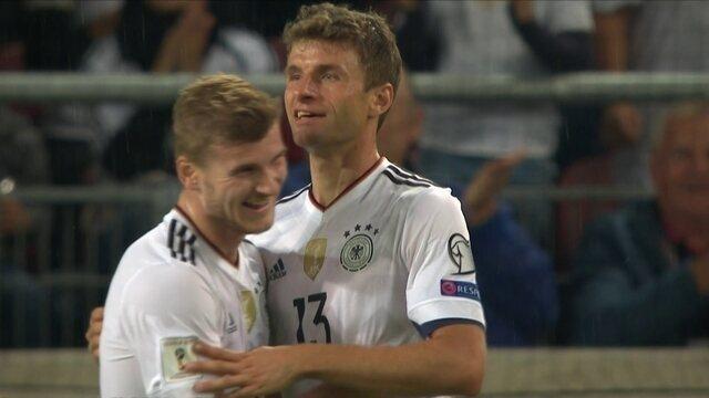 BLOG: Homem-gol alemão, Werner fez 49 jogos por seleções de base antes de ir à principal