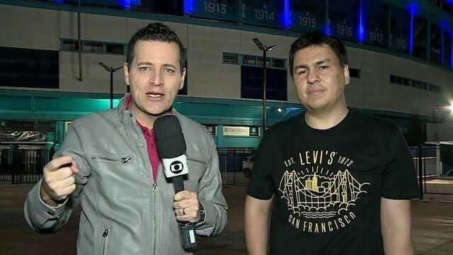 Repórteres trazem todas as informações da preparação do Corinthians na Argentina