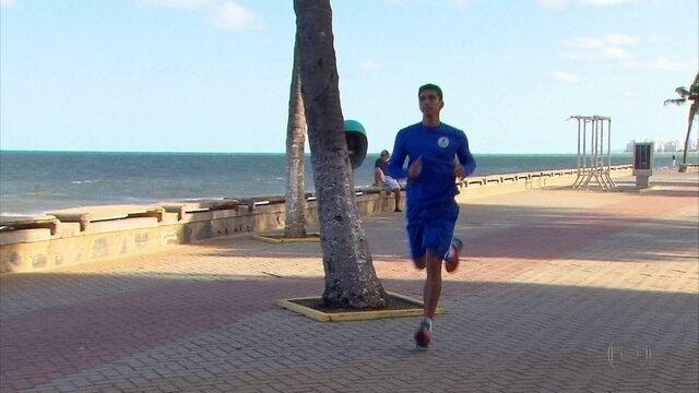 Apaixonado por correr, nem mesmo um tumor afastou Estevam do que gosta