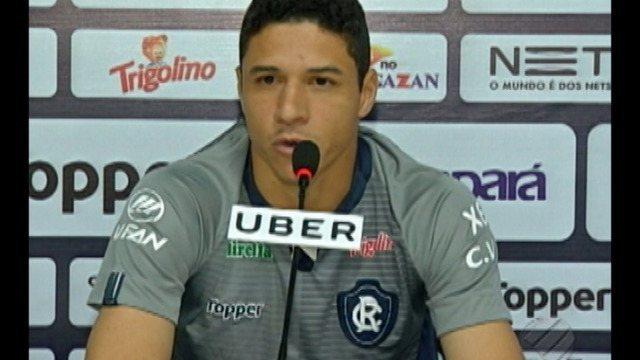 Vinicius fala de sua renovação de contrato com o Remo