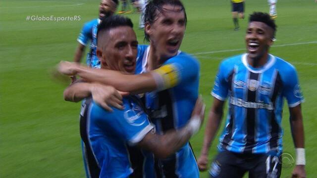 Grêmio evoca espírito copeiro e deixa de lado melhor futebol por vaga