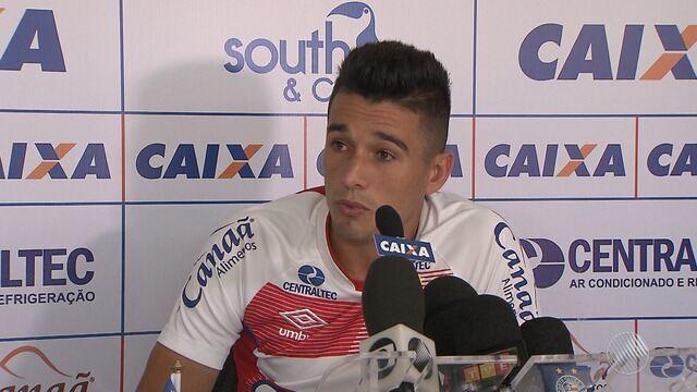 Juninho fala sobre pressão que os jogadores do Bahia estão sofrendo nos últimos dias