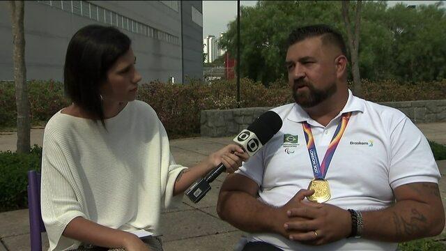 Giro Paralímpico: André Rocha sonha com o ouro no lançamento de disco nos Jogos de Tóquio