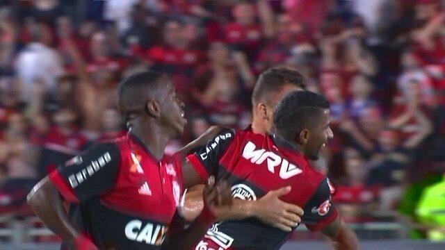 Os gols de Flamengo 1 x 1 Avaí pela 25ª rodada do Brasileirão