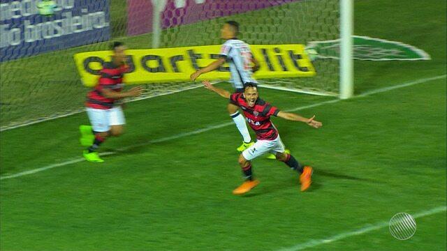Vitóiria abate o Atlético-MG fora de casa e escapa da zona de rebaixamento do Brasileirão
