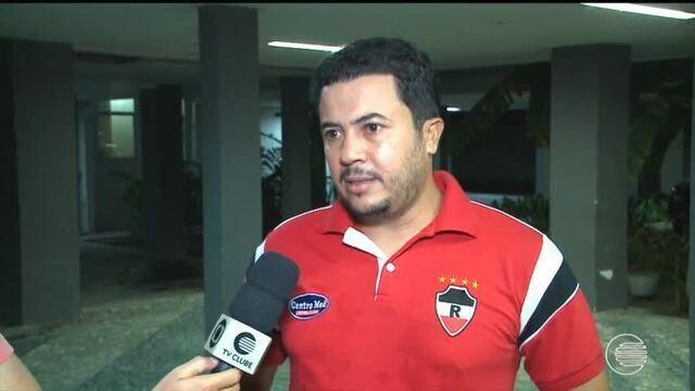 Lucas Andrade torce por virada no TJD-PI enquanto motiva o River em espera de julgamento