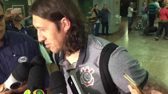 Goleiro do Corinthians, Cássio explica por que foi para a área do Bahia no fim do jogo