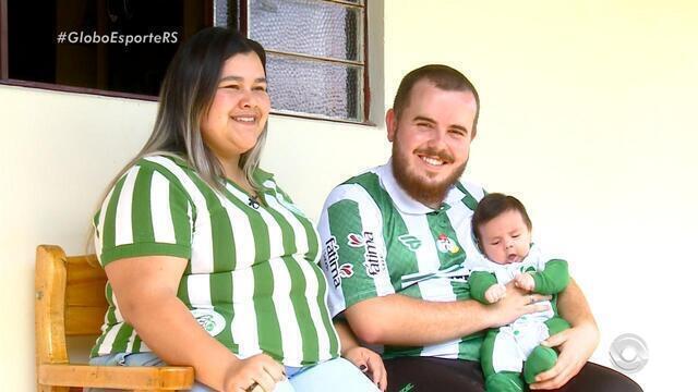 Família de torcedores do Juventude aguarda ansiosamente a volta do time para a série A