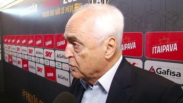 Presidente do São Paulo diz que Grupo B é o mais difícil do Campeonato Paulista