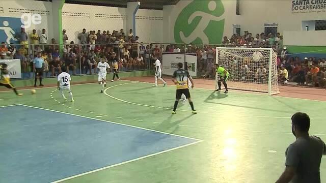 Confira os gols da rodada em Santa Cruz do Capibaribe na Copa TV AB de Futsal