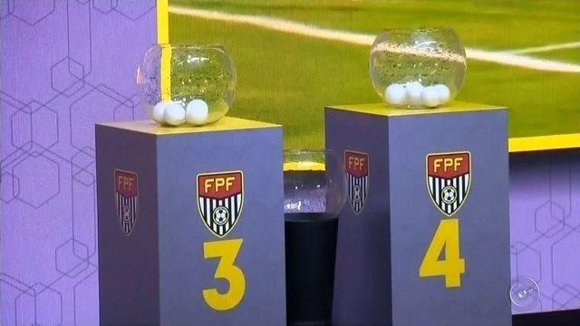 Veja como ficaram os grupos do Campeonato Paulista de 2018