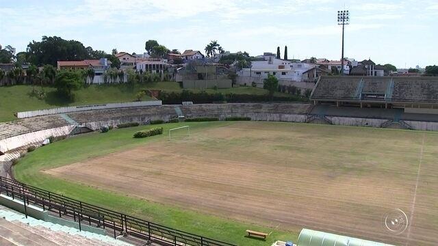 Estádio Walter Ribeiro começa a passar por reforma para temporada de 2018