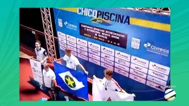 Promessa de Mato Grosso conquista ouro no maior torneio juvenil da natação brasileira