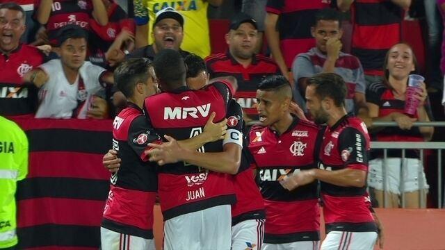 Os gols de Flamengo 4 x 1 Bahia pela 29ª rodada do Campeonato Brasileiro