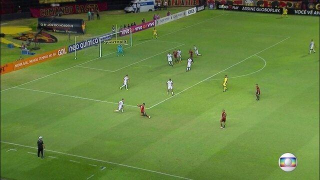 Na Ilha do Retiro, Sport empata em 1 a 1 com o Santos