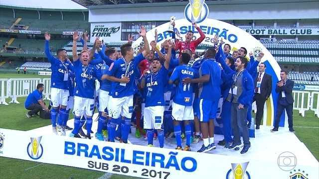 BLOG: Herói no Brasileiro Sub-20 com o Cruzeiro, Vitor Eudes jogava em time amador até 2016