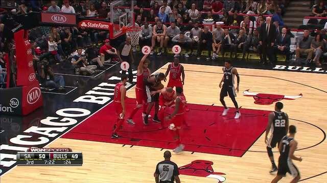 Melhores momentos de San Antonio Spurs 87 x 77 Chicago Bulls pela NBA