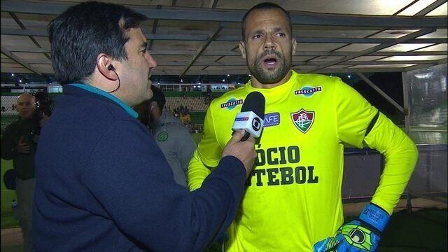 """""""Temos que focar no jogo da quarta-feira"""", diz Diego Cavalieri"""