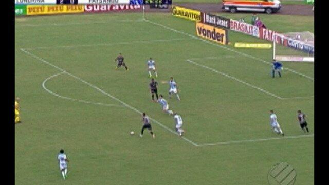 Paysandu perde para o Londrina por 2 a 0, no Estádio do Café