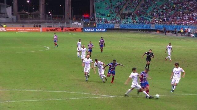 Melhores momentos: Bahia 3 x 1 Santos pela 35ª rodada do Brasileirão