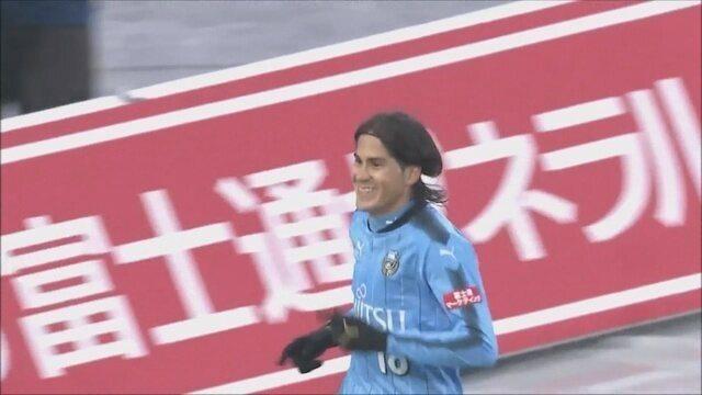 Elsinho marca gol da vitória do Kavasaki contra T. Osaka e mantém time na vice liderança