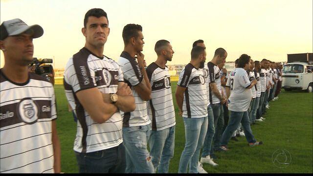 Novo time do Treze é apresentado para a torcida no Presidente Vargas