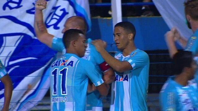 Os gols de Avaí 2 x 1 Palmeiras pela 36ª rodada do Brasileirão