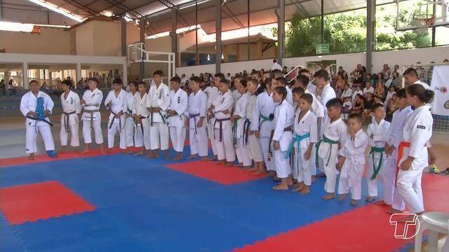 Copa Tapajós de Karatê reúne atletas de Santarém e de outras cidades do Pará e Amazonas