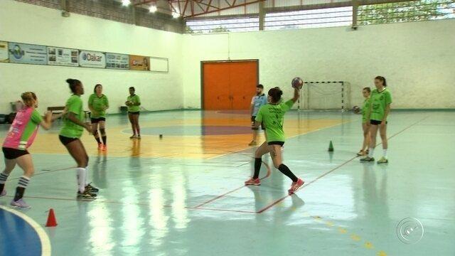 Equipe feminina de handebol de Sorocaba estreia nesta quarta-feira nos Jogos Abertos