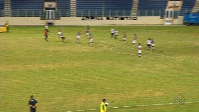 Santa Cruz goleira ABC, mas se despede da Copa do Nordeste sub-20