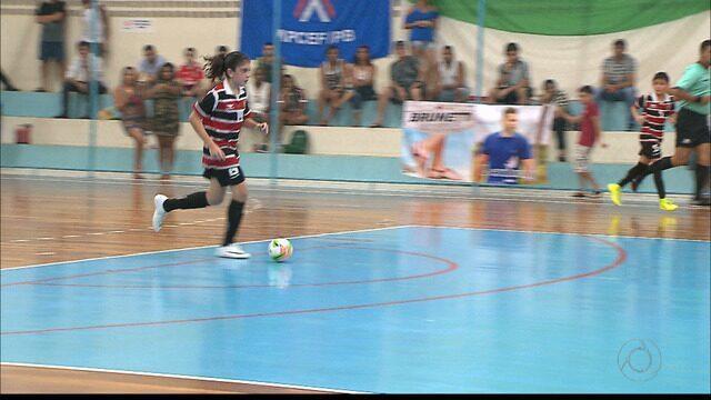Com nome de craque espanhol, ala comanda o Santa Cruz na Taça Brasil de Futsal sub-11