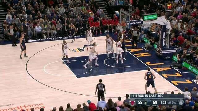 Melhores momentos: Utah Jazz 110 x 80 Chicago Bulls pela NBA