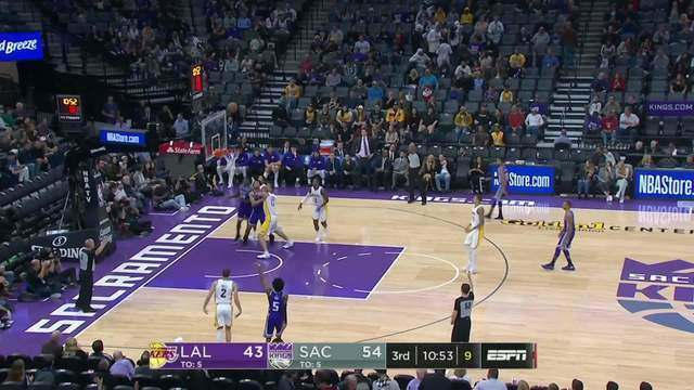 Melhores momentos: Sacramento Kings 113 x 102 Los Angeles Lakers pela NBA
