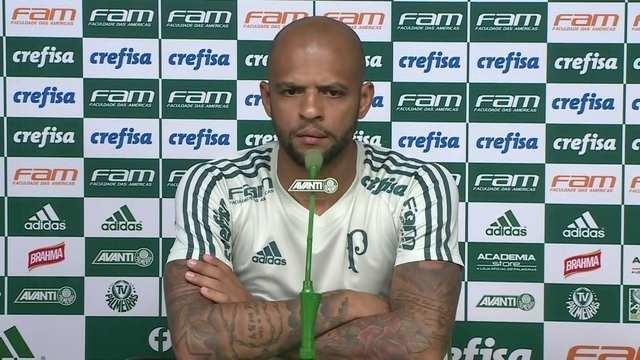 Veja a íntegra da entrevista coletiva de Felipe Melo, do Palmeiras
