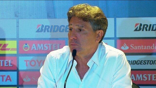 Renato Gaúcho dá show de humor em coletiva após jogo de ida da final da Libertadores