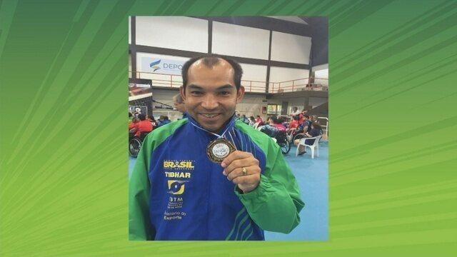 João Fernando Totó conquista ouro por equipe no Sulamericano Paralímpico na Argentina