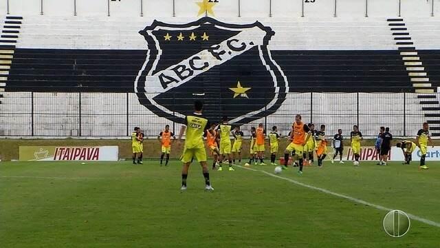 ABC faz última partida pela Série B 2017 neste sábado contra Ceará