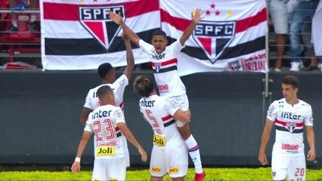 Os gols de São Paulo 1 x 1 Bahia pela 38ª rodada do Campeonato Brasileiro 2017