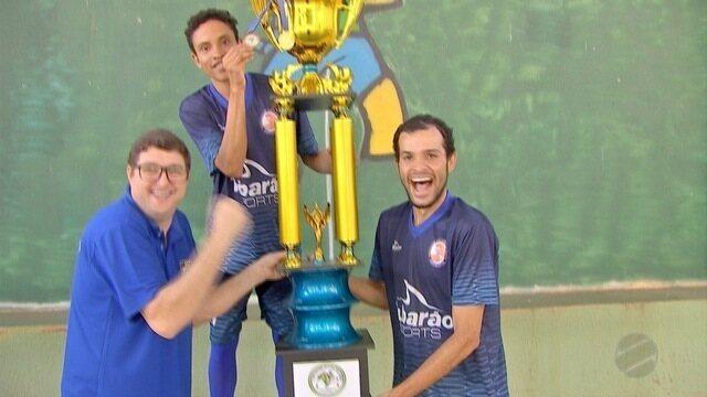 Equipe de MT conquista título nacional de futsal para surdos