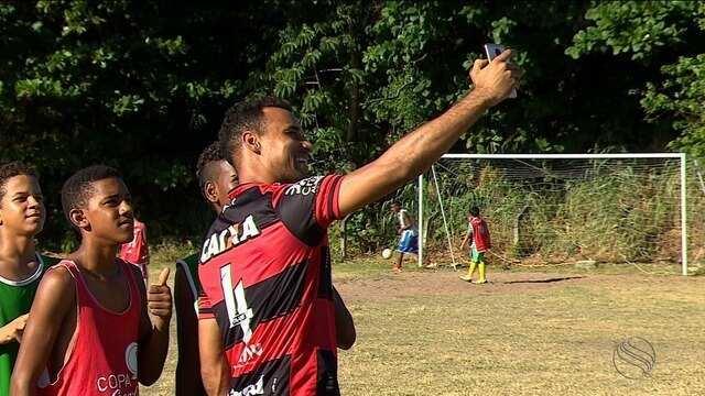Zagueiro Gilvan, do Atlético Goianiense volta às origens em Sergipe