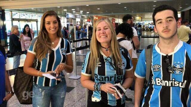 Torcedores do Grêmio viajam em voo fretado para os Emirados Árabes