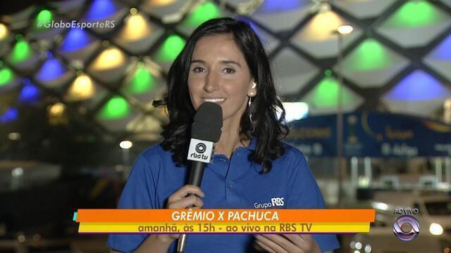 Grêmio começa participação no Mundial na terça-feira (12)