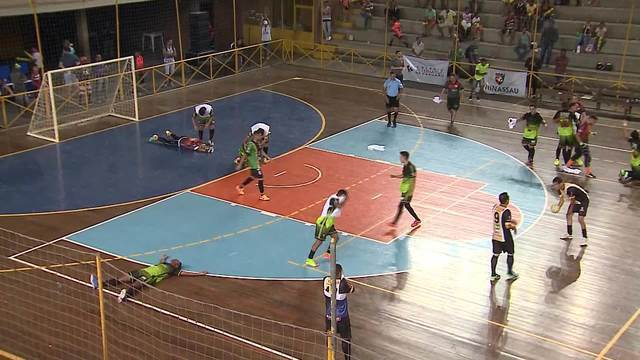 Gols da final da 12ª Copa TV Asa Branca de Futsal
