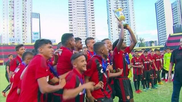 Sport vence Pernambucano de futebol Sub-17