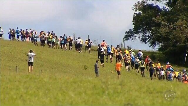 Mais de 1,3 mil atletas participam de corrida na Cuesta de Botucatu
