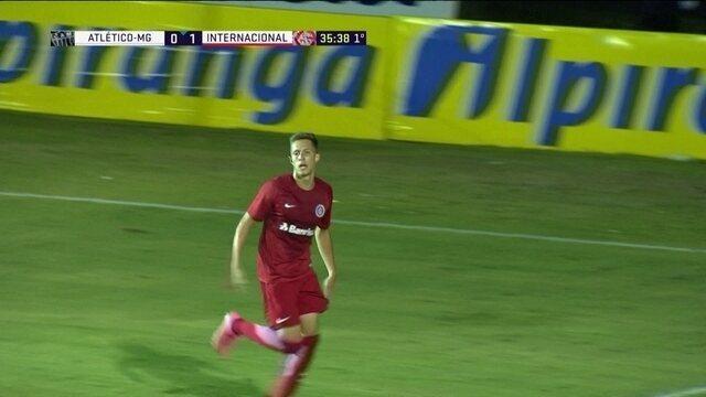 Os gols de Atlético-MG 2 x 3 Internacional pela Copa RS de futebol sub-20