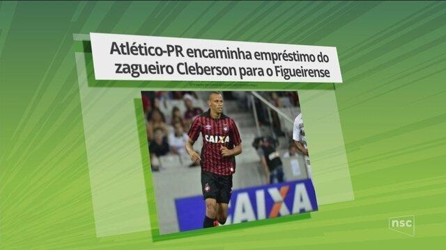 Mercado da bola: Atlético-PR encaminha empréstimo do zagueiro Cleberson para o Figueirense